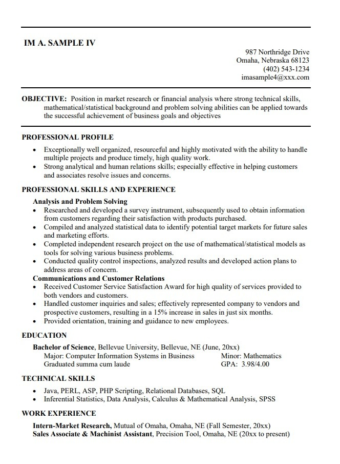 10 college student resume templates  ms word excel