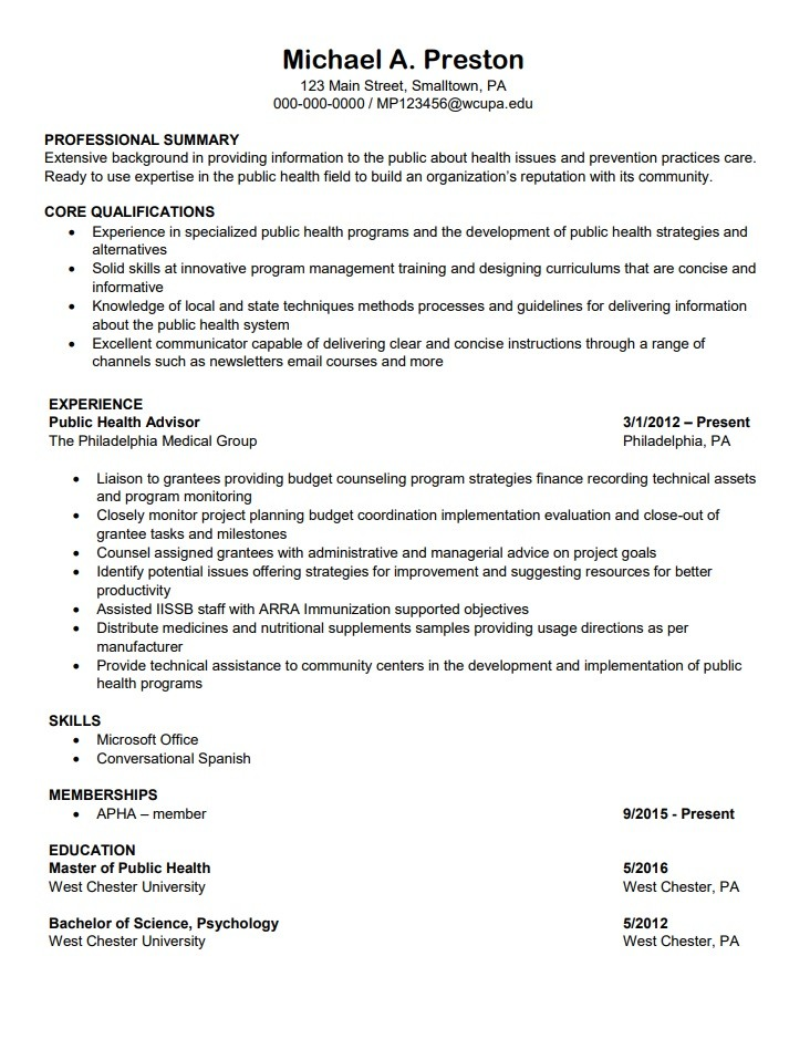 11 medical resume templates  free word excel  pdf